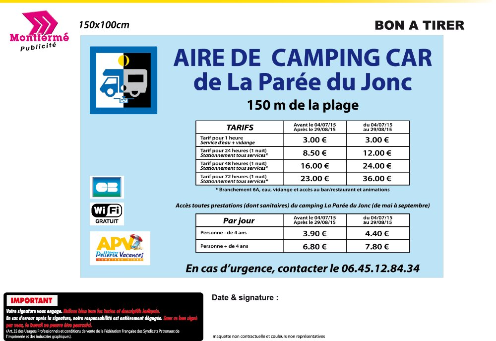 Aire camping-car à Saint-Jean-de-Monts (85160) - Photo 4